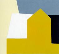 Sol på tak, 2002, 45x49cm