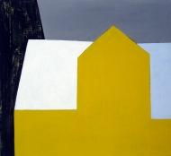 Sol på tak, 2008, 120x130cm, akryl