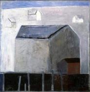 Hustavle, 1989, 73x72,5cm, olje
