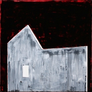 Hus, 2007, 160x160, akryl