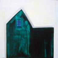 Skumring, 2009, 69x69cm, akryl